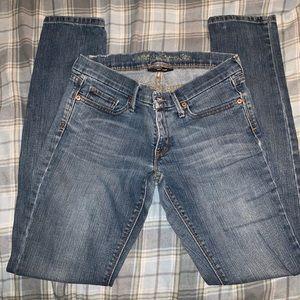 Levi's skinny jeans size 5 medium women's